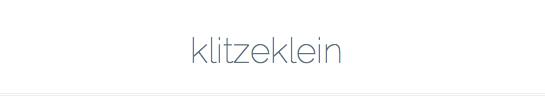 klitzeklein_blogroll