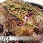 Köstlicher Sonntagsbraten: Entrecôte mit Yorkshirepudding und Remouladensoße