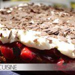 Ein Familien-Traditions-Rezept: Nuss-Kirsch-Torte mit Sahne und Eierlikör