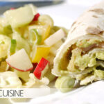Räucherfischwrap mit Guacamole und Frühlingssalat mit Frenchdressing – live von der SWR3-Grillparty