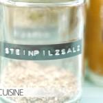 Gewürzregal (Teil 2) heute gibt's ein Rezept von Donna Hay: Steinpilzsalz