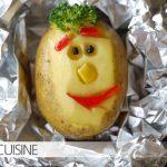 Fröhliche Kartoffelgesichter – da lacht nicht nur das Kinderherz: die wirklich kreative Ofenkartoffel!