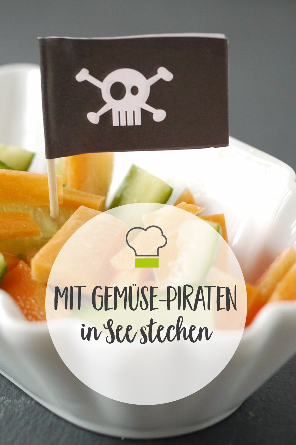 Pinterest Gemüse Piraten