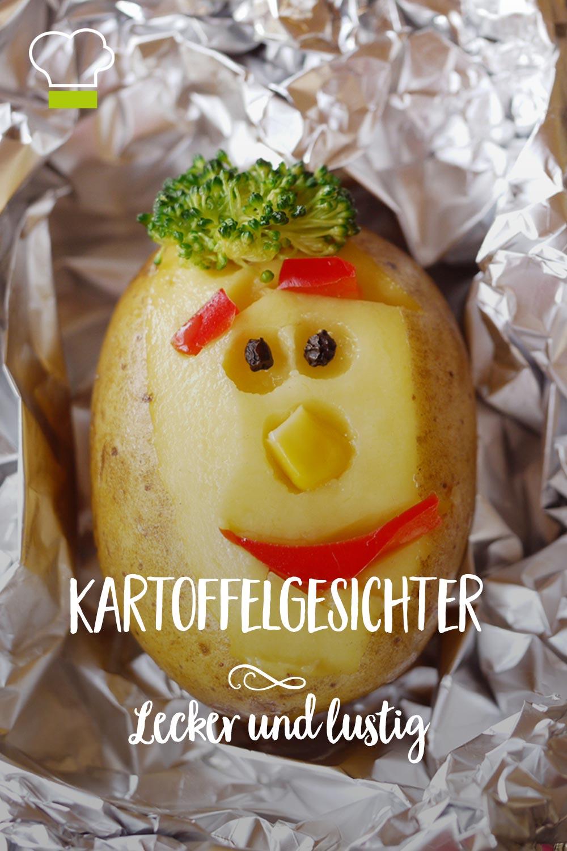 Pinterest Kartoffelgesicht Kartoffel Kinderrezepte