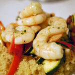 Mal etwas Gesundes – Couscous-Päckchen mit oder ohne Garnelen, auch für Veganer ein heißer Tipp!