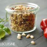 Mediterrane Streusel – leckere Würze für Raclette oder Fleisch-Fondue! Passt auch zum Grillen!