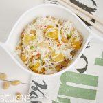 Ein echt leckerer Mango-Reissalat mit Erdnuss-Vinaigrette und köstlicher Reis von Reishunger zu gewinnen!