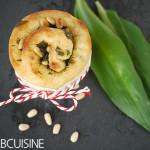 Bärlauch-Kringel zur Umzugsparty bei der wunderbaren Küchenchaotin