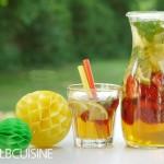 Superschnelle Erdbeer-Limetten-Minz-Bowle – erfrischend und ideal für Kids – perfekt für's Finale!