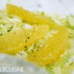 Blitzschneller Spitzkohl-Orangen-Salat mit einem spannenden Messerschärfer-Test