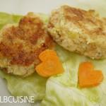 Lachsbuletten mit Möhrenherzchen – schnell, einfach und absolut köstlich! Prima für's Osterbuffet!
