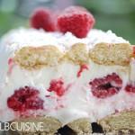 Himbeertraum – schnelle erfrischende, fruchtige und cremige Super-Torte