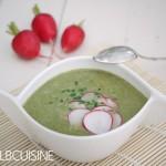Radieschengrün-Suppe – hier wird nichts verschwendet!