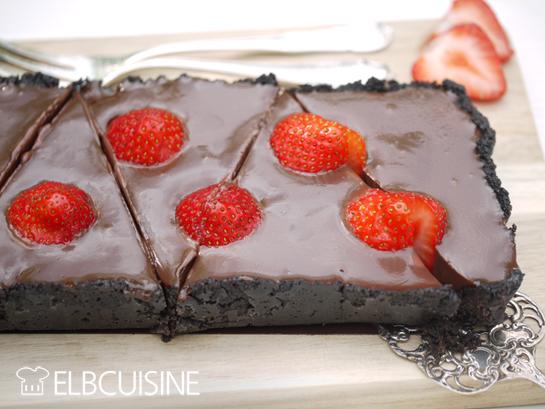 Schokolade Satt Oreo Erdbeer Schokoladen Torteelbcuisine
