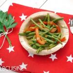"""""""Zack die Bohne!"""" – einfaches Rezept für ein leckeres Bohnen-Paprika-Ragout in rot-grün"""