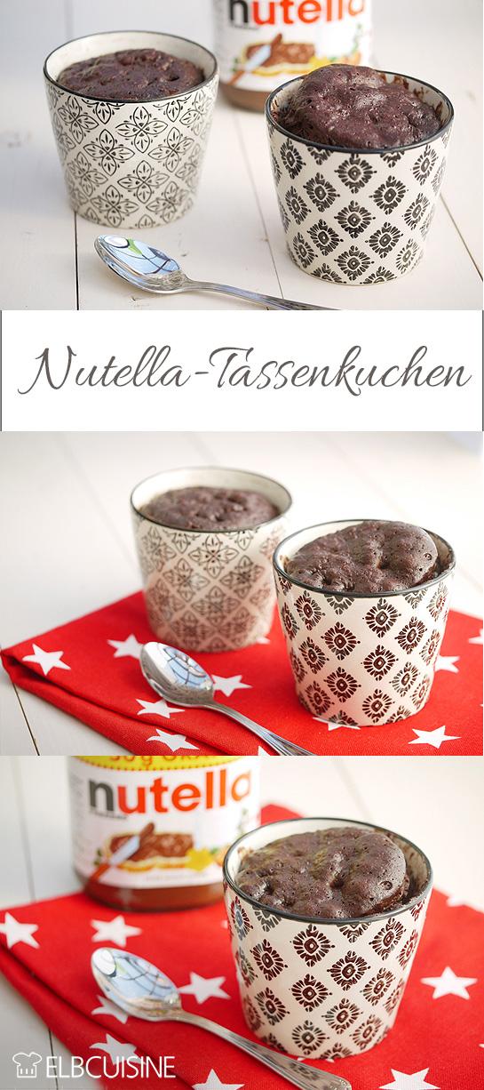 Fur Die Schnelle Lust Auf Etwas Susses Nutella Tassenkuchenelbcuisine