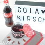 Cola-Kirsch-Marmelade – ein ungewöhnliches süßes Vergnügen für's Frühstück!