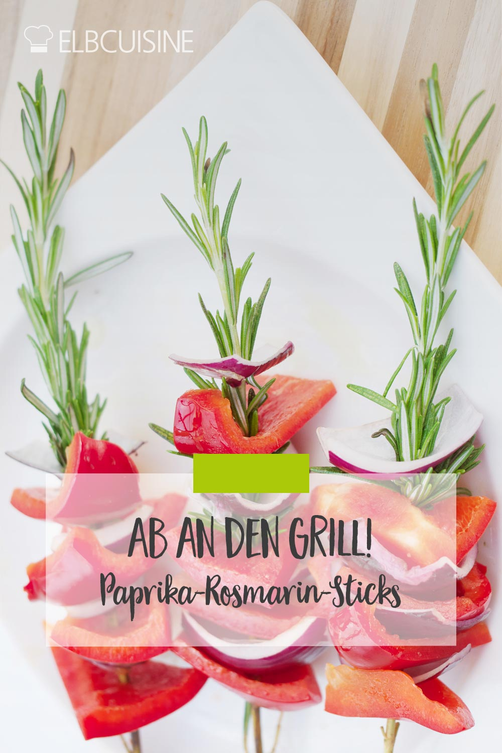 Paprika Rosmarin Sticks Pinterest