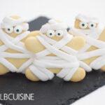 Spontane Halloween-Idee – gruselige Mumien-Kekse