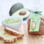 Aromatisches Guacamole-Gewürz – hübsch verpackt, ein netter Weihnachtsgruß für alle Avocado-Liebhaber!