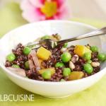 Ein Wunder namens Mango Explosion – exotischer Mango-Erbsen-Wildreis-Salat