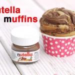 Achtung, Suchtfaktor: Himmlische Muffins mit Nutella-Wirbel