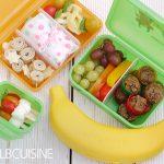 Snacks & Ideen für Brotdose und unterwegs beim Boxen-Stopp mit JAKO-O // Werbung