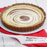Zebra-Torte als Cheesecake – lecker und low-carb