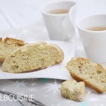 Die Weihnachtsbäckerei startet mit köstlichen Safran-Biscotti!