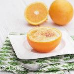 Ein feines Weihnachtsdessert für euer Festtagsmenü: Orangen-Crème brûlée