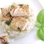 Köstliches Lachs-Sahne-Risotto – euer Favorit auf Instagram