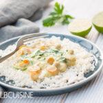 Leckeres Veggie-Curry mit Blumenkohlreis für die Bikini-Figur