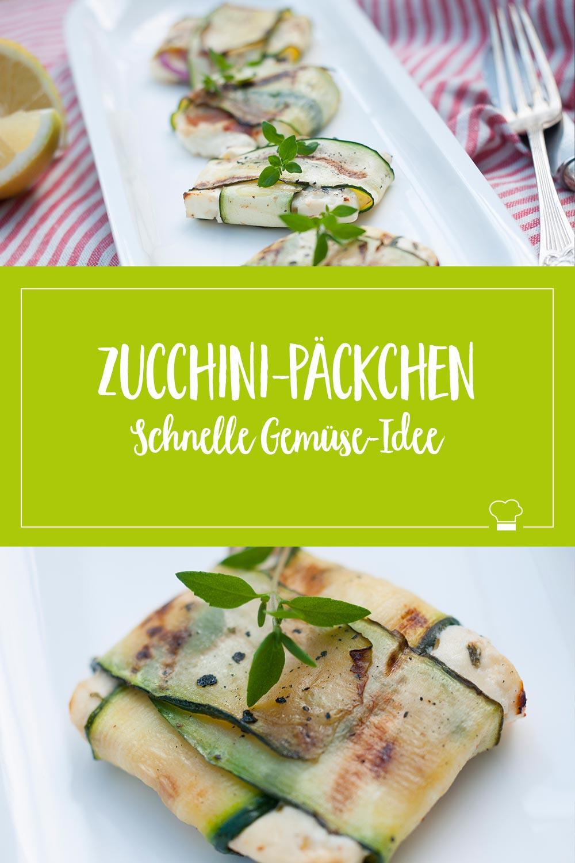 ELBCUISINE Zucchini Päckchen