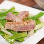 Thunfisch nach Jamie Oliver mit Sesamkruste – genial einfach!