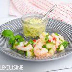 Schnelle Ceviche – Garnelensalat, frisch und lecker!