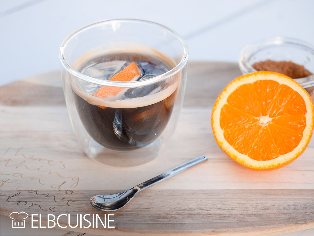 Eiskaffee Coffee Orange