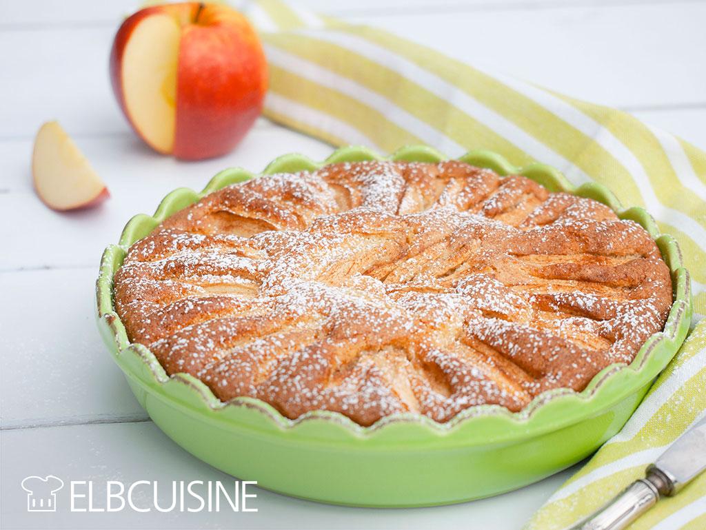 ELBCUISINE Schneller Apfelkuchen