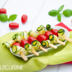 Zucchini-Tomaten-Spieße – der Grill ruft