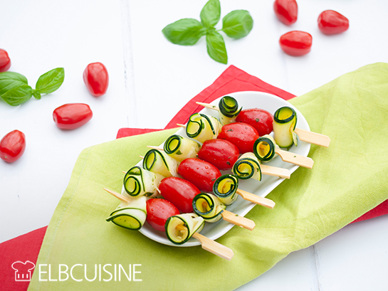 Tomaten-Zucchini-Spiesse